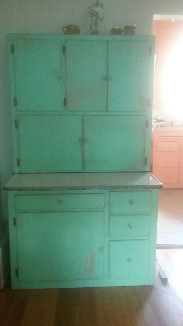 Offer Up San Diego >> Kitchen Hutch With Vintage Style Coffee Grinder1950s For Sale In San
