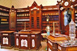 Szerecsen patika múzeum  Pécs Hungary