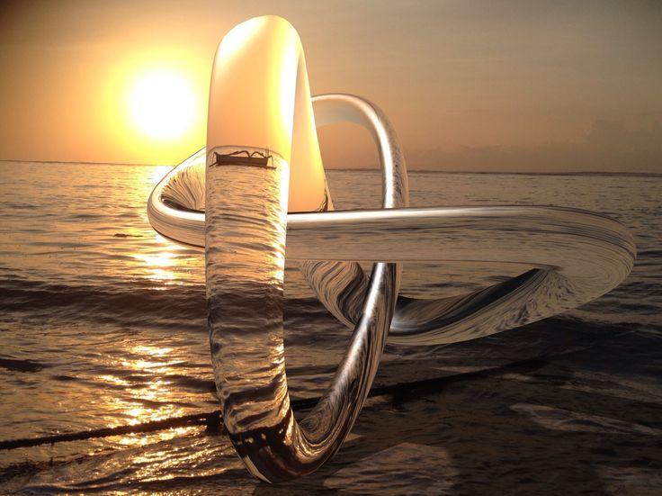 Made with matterapp. Bali Sanur, sunset.