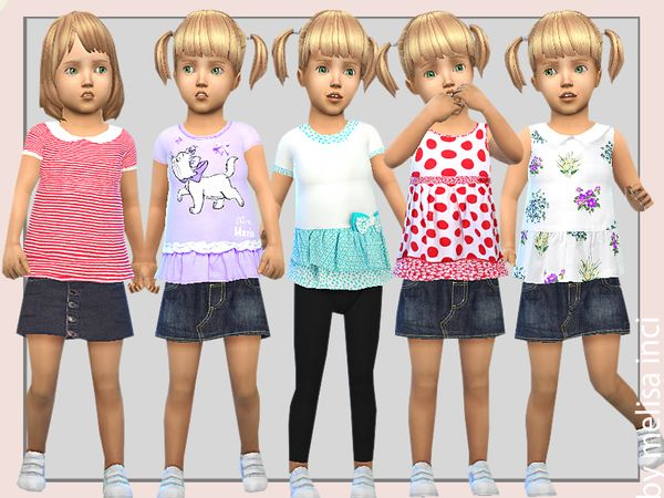 Sims 4 CC's - The Best: Toddlers Clothing by Melisa inci