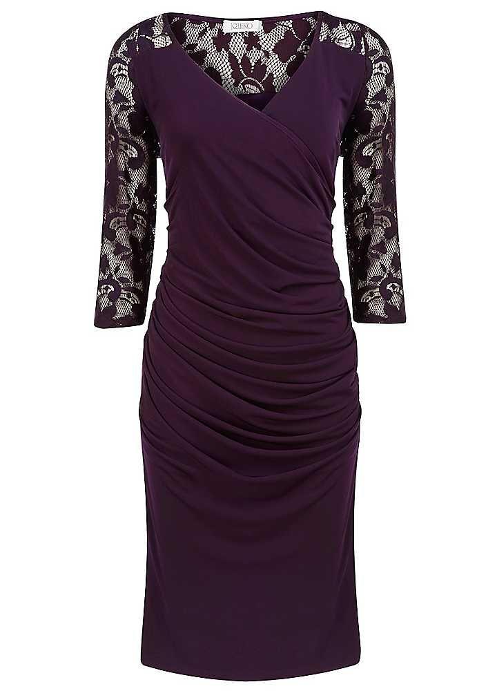 Kaliko Lace Yoke Dress