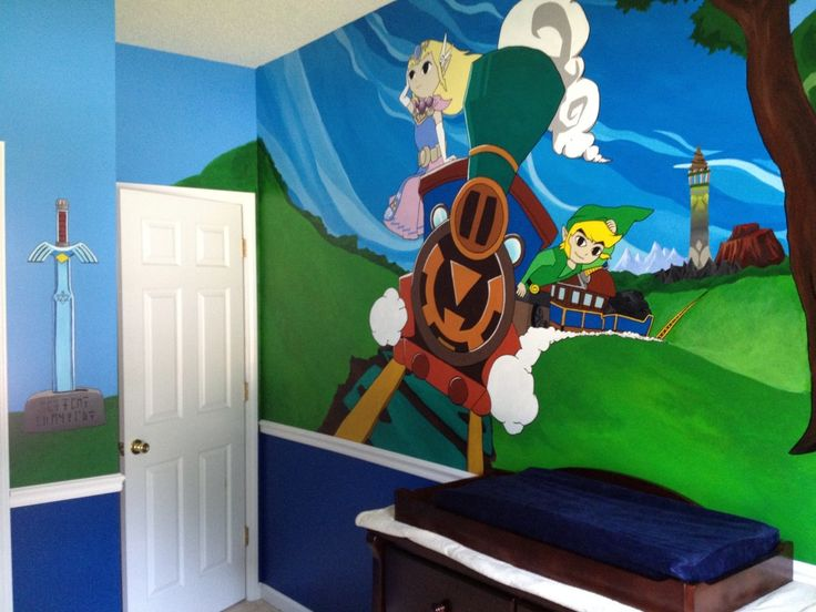 Captivating Legend Of Zelda: Painted Nursery