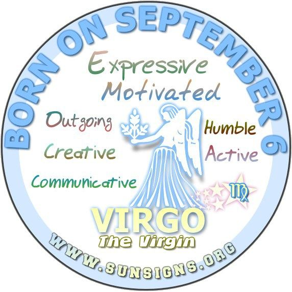 September 6 Birthday Horoscope Personality » Sun Signs