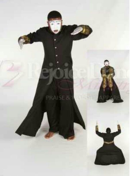 I Like The Look Of This Mime Robe For My Church Mime