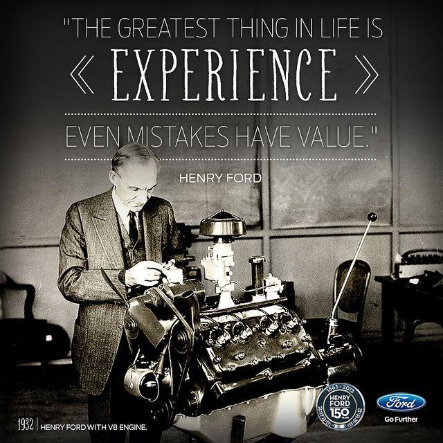 Henry Ford 150th | Flickr - Fotosharing!, asi comienza todo a partir de la observación aprendiendo de los aciertos y errores