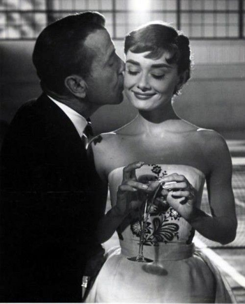 One of my favorites! Audrey Hepburn and Humphrey Bogart in Sabrina