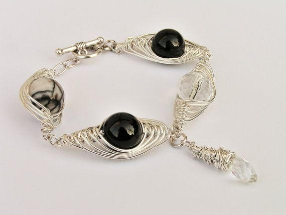 SHINE. CRYSTAL MOON Magic bracelet with by SHINEmagicJewellery