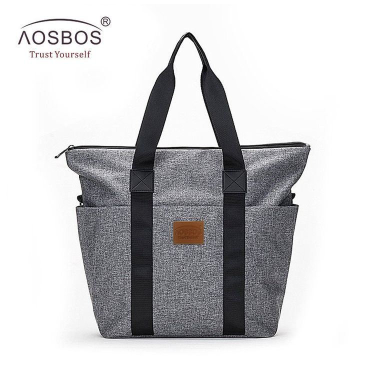 Casual Flannel Oxford Shoulder Diaper Bag, With Three Free Pouches