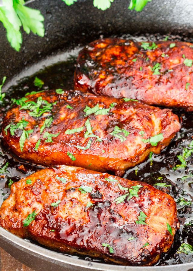 Korean Style Pork Chops by jocooks #Pork_Chops #Korean