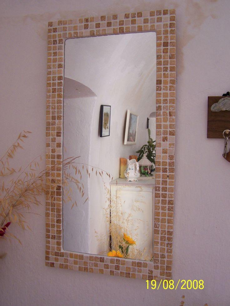 Miroir en mosa que de pierre miroir pinterest mosa que de pierre miroirs mosa que et miroirs for Immense miroir