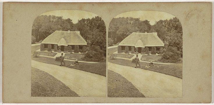 Huisje op het landgoed van Kenmare, Anonymous, The London Stereoscopic Company, c. 1856 - c. 1922