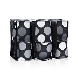 Zip Top Organizing Utility Tote Got Dots Totes Thirty One Spring