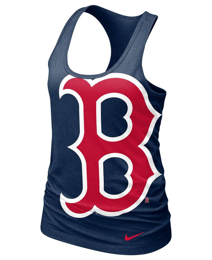Nike Women's MLB T-Shirt, Boston Red Sox Cotton Tank - Sports Fan Shop - Men - Macy's