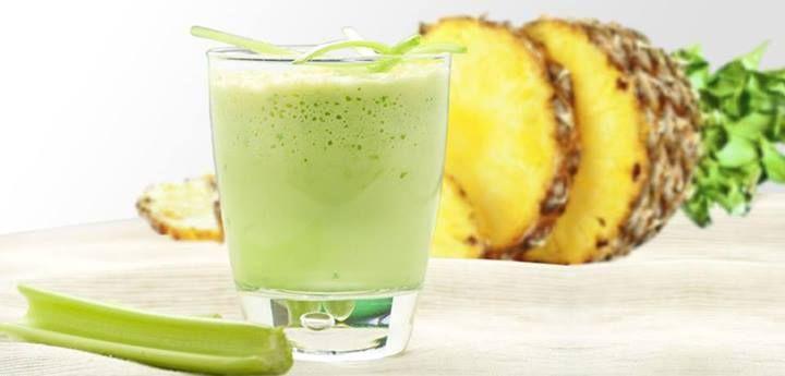 DESINTOXICANTE!!!! Tomar un licuado todos los días en la mañana de Piña, apio, limón, pepino y perejil esto produce en nuestro metabolismo una diuresis de toxinas, quemador de grasa natural y una activación metabólica que ayuda a bajar esos kilitos de más. (720×345)