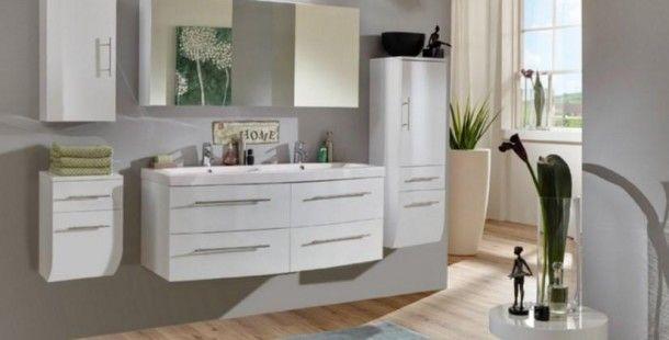 Şahane Beyaz Banyo Dolabı Tasarımları