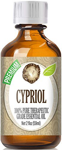 Cypriol (60ml) 100% Pure, Best Therapeutic Grade Essential Oil - 60ml / 2 (oz) Ounces *** Can't believe it's available, see it now : NOW essential oils