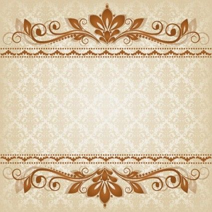 Classic lace pattern 03 vector Vector pattern - Free vector for free download