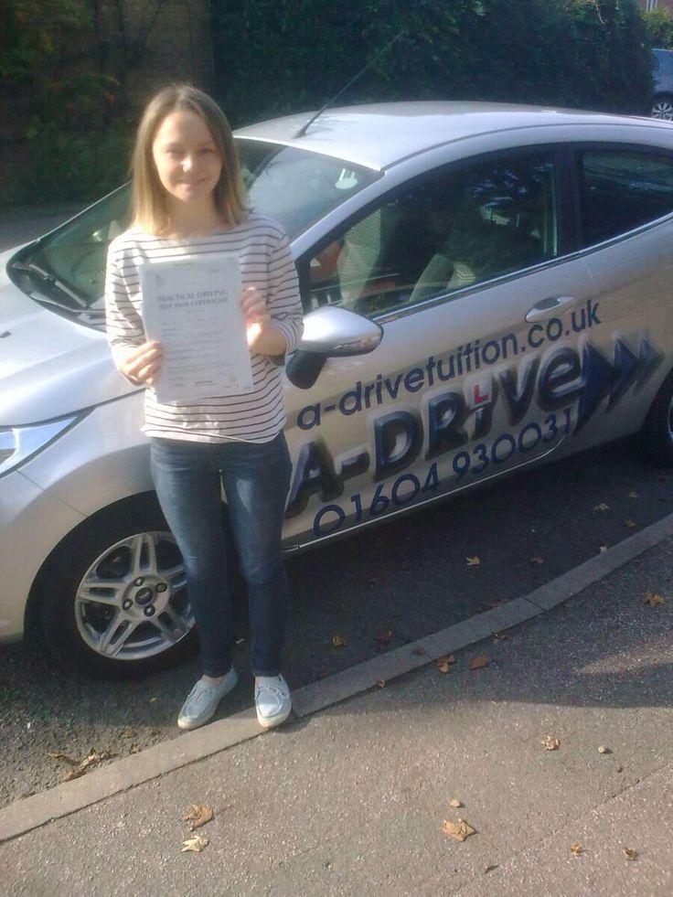 "DRIVING TEST SUCCESS AGAIN!!!!!!  www.adrivetuition.co.uk A massive congratulations to Millie Spicer of Northampton College who passed her practical driving test 22/9/14 at Northampton Driving Test Centre with Geoff French of www.adrivetuition.co.uk  Millie said ""What a great driving school, really pleased. Thanks Geoff"""