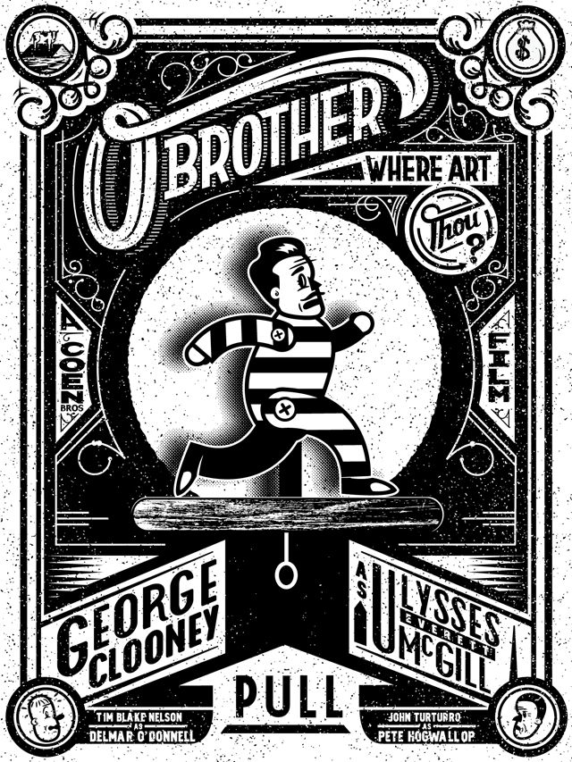O Brother Where Art Thou? - movie poster