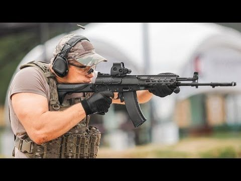 Russia Rearms for a New Era - Kalashnikov assault rifle AK 12 and AK 15