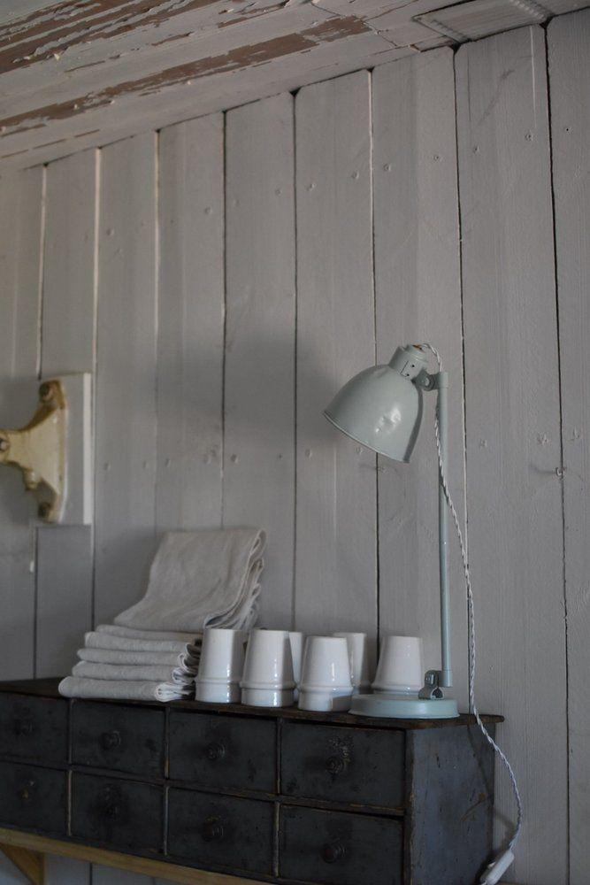 sur 1 R de brocante — LAMPE PASTEL