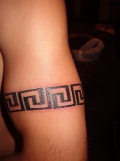 greek key tattoo tattoo ideas pinterest. Black Bedroom Furniture Sets. Home Design Ideas