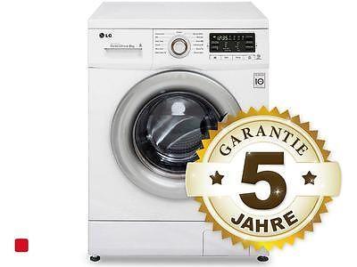 LG F 14B8 TDA7  Stand Waschmaschine Weiß Waschvollautomat 8 kg