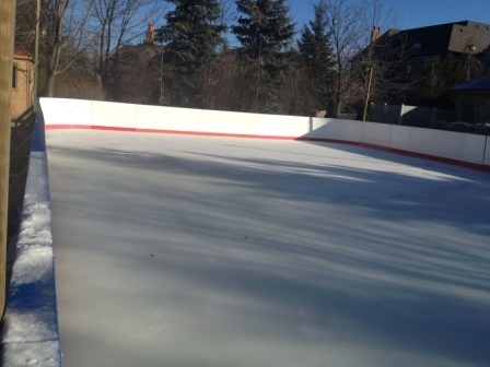 Portable Refrigerated Ice Rink For Your Backyard Ice Rink