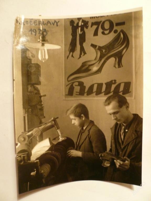 BAŤA - OPRAVA BOT prodejna KROČEHLAVY !!! rok 1923