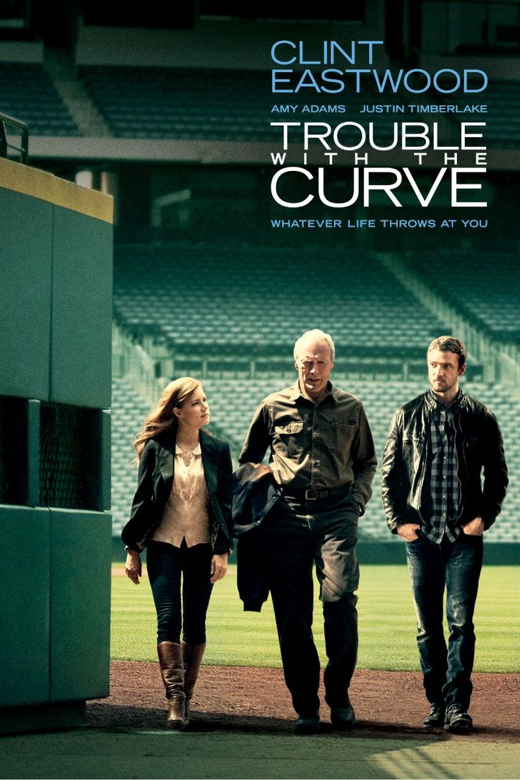 Trouble with the Curve - Not good reviews from Rotten Tomatoes but I enjoyed it.  Just a warm, fuzzy film with another great performance by Clint Eastwood.and good performances by Amy Adams and Justin Timberlake.
