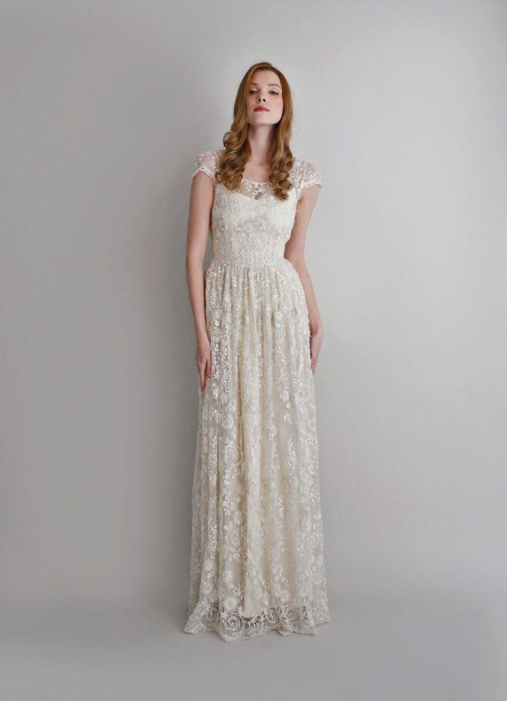 17  ideas about Silk Wedding Dresses on Pinterest - Open back ...