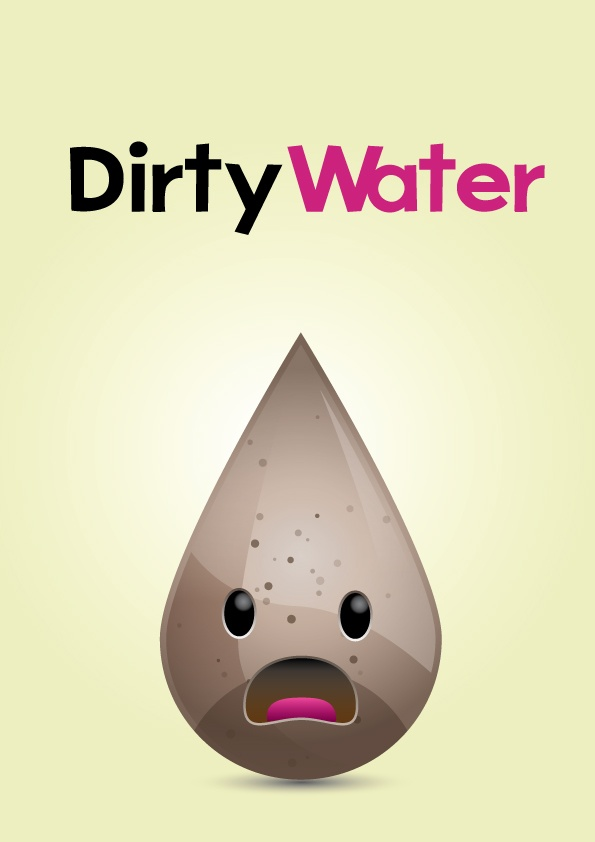 Dirty Water - David Archbold  #graphicdesign #design #art #digital #aminated #logo