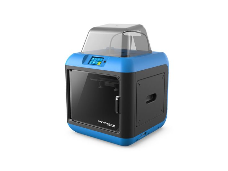 Safe, Easy to use and Cost-effective 3D Printer. 2nd generation wireless connection. More stable.Inventor II features the 2nd generation Wi-Fi connection with