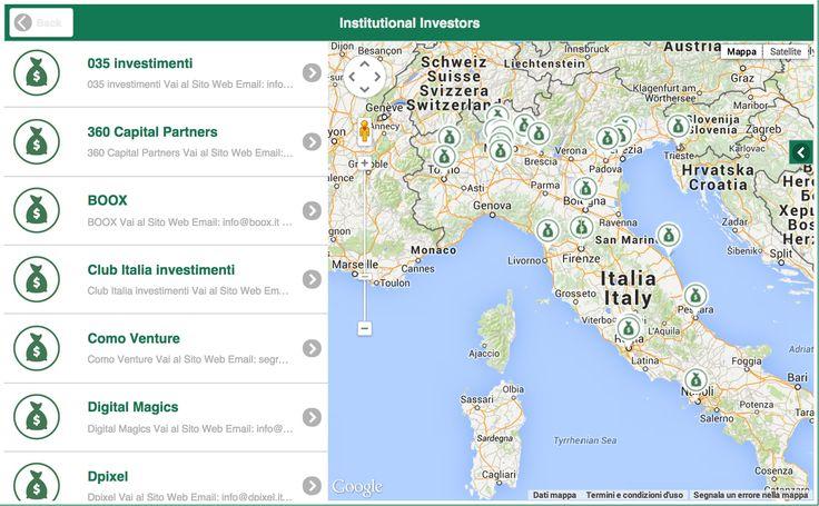 Mappa degli investitori istituzionali