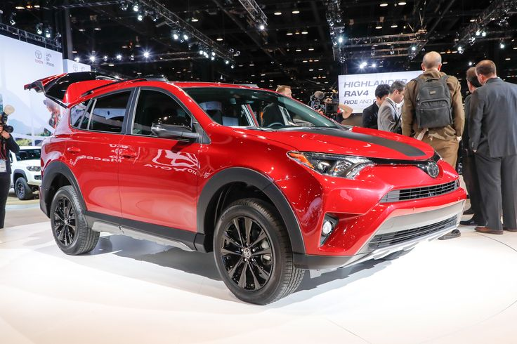 2018 Toyota RAV4 Adventure Makes its Debut in the Windy City - Motor Trend