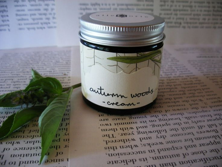 Handmade vegan skincare, made in Australia-Autumn Woods- rich moisturising cream, 60ml  $45.00. A delightful rich cream, this blend provides calming moisture and balance to sensitive and combination skin. With black willow and calendula extracts to cleanse and control oiliness and meadowfoam seed oil to repair