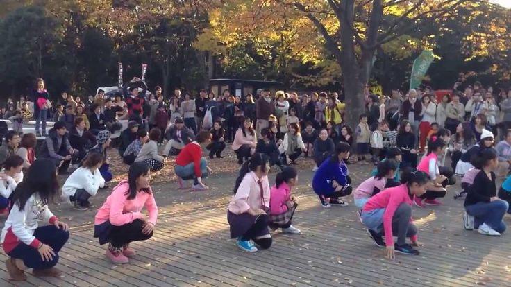 代々木公園 フラッシュモブ サプライズ公開プロポーズ!Flashmob proposal at Yoyogi Park in Japan