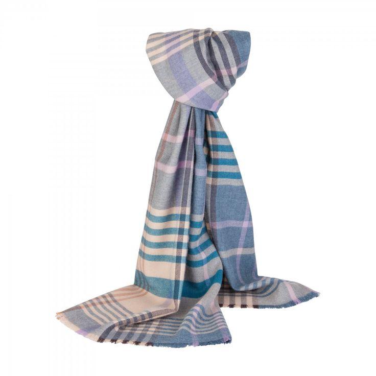 Johnstons of Elgin 100% merino wool scarf, £59, Far Horizons Gallery (Petersfield)