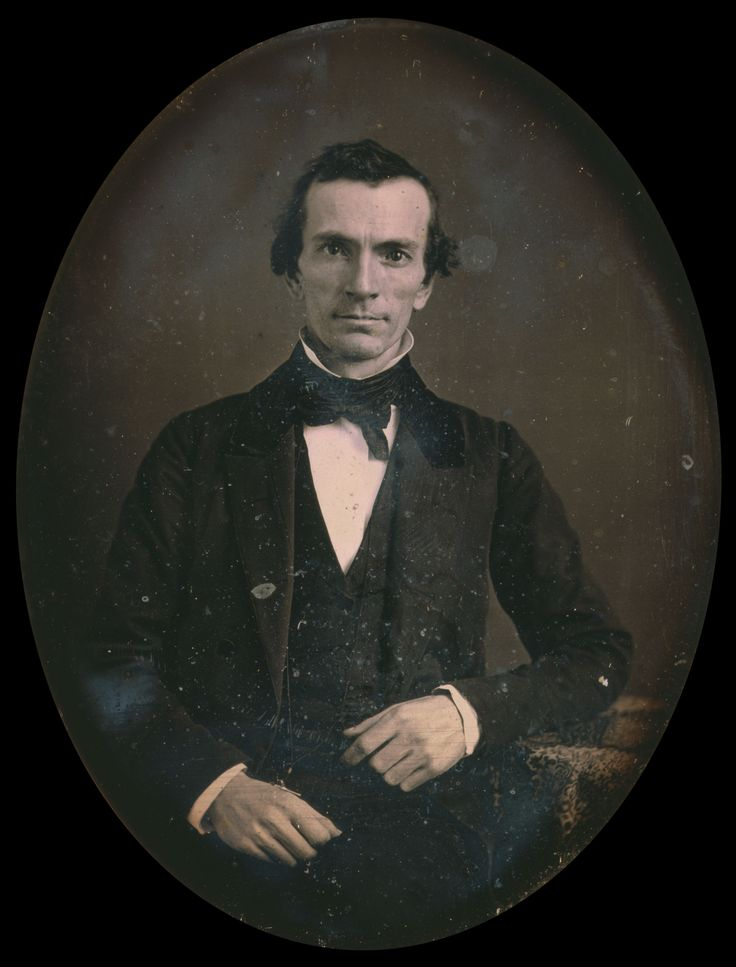 Oliver Cowdery: Original daguerreotype, post-conservation. Reproduction Number: LC-USZC4-11325. Library of Congress.