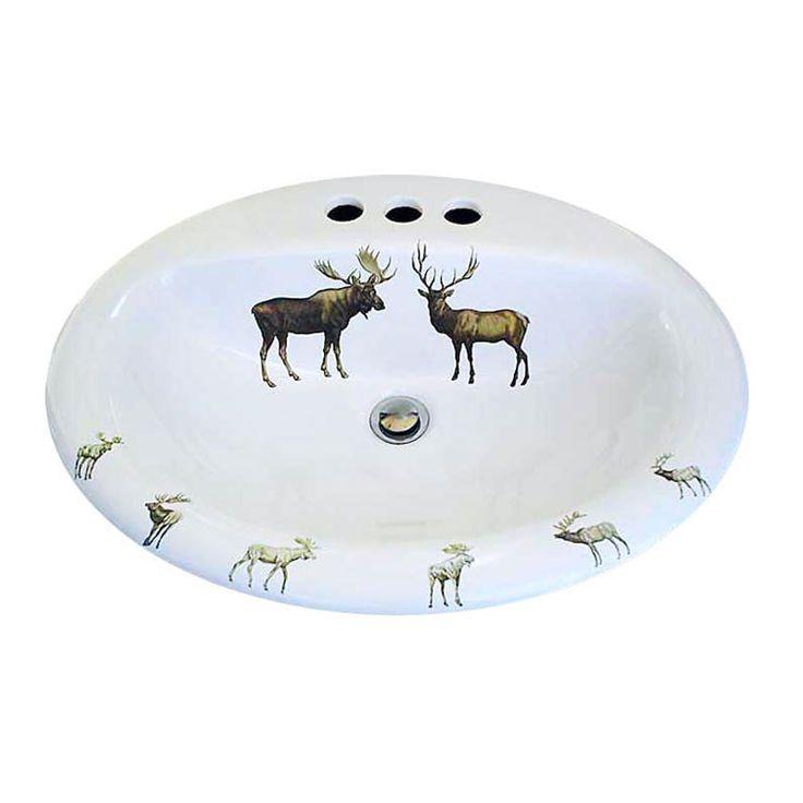 Bathroom Sinks Las Vegas 14 best animals & nature hand painted sinks images on pinterest