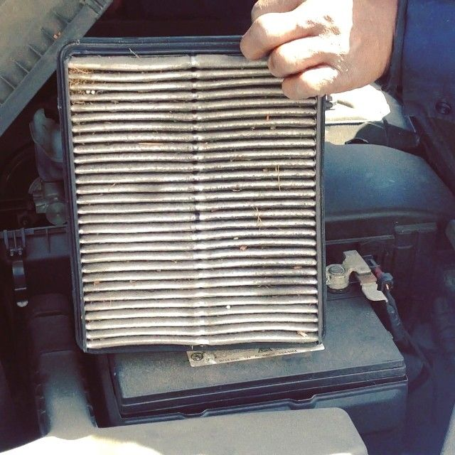 how to change central air filter
