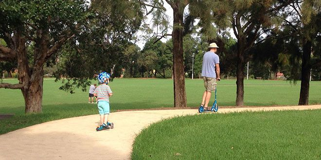 Best trike paths for kids on the North Shore | North Shore Mums