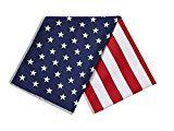 Mission Enduracool Microfiber Cooling Towel Large American Flag