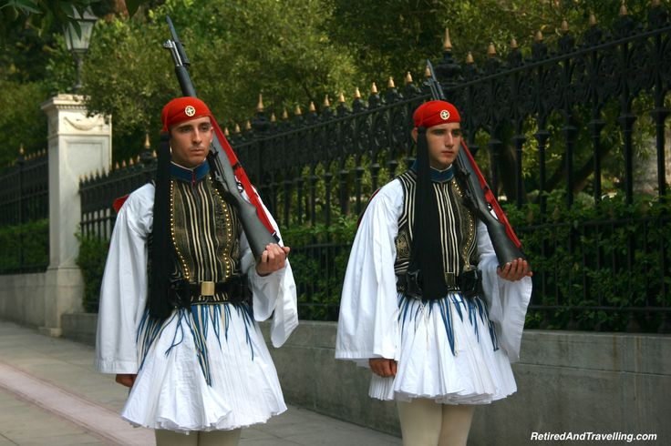 So much fun to see thechanging of the guards in Athens!