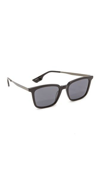 McQ - Alexander McQueen Rectangle Sunglasses | SHOPBOP SAVE UP TO 25% Use Code: GOBIG17