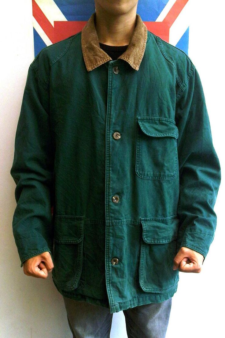 EDDIE BAUER | CHORE JACKET | size S (fit XL) | IDR 199.000 | 95% condition | 'corduroy collar'