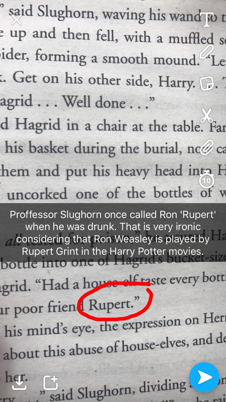 Actually when this book was written, Rupert probably had played Ron in the earlier movies so it's likely JKR did that on purpose