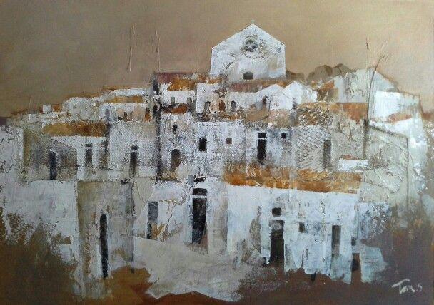 Periferia 50x70 acrilico su tela Luigi Torre painter 2015