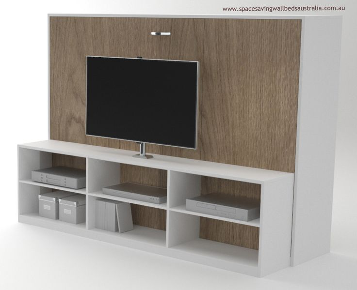 The TV Unit Wall Bed