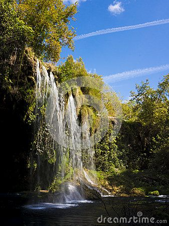 Düden fall in Antalya/Turkey